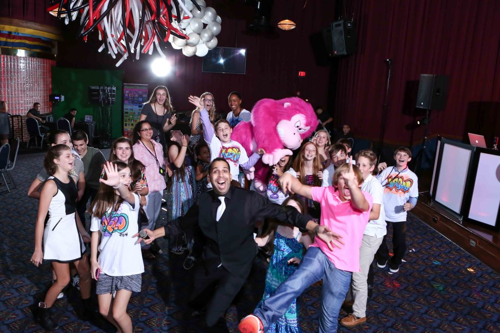 Dave And Busters Sydney's Bat Mitzvah September 13, 2014 Group Photo Funny